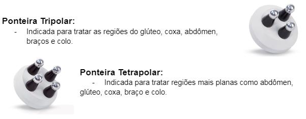 Ponteira Tripolar e Ponteira Tetrapolar