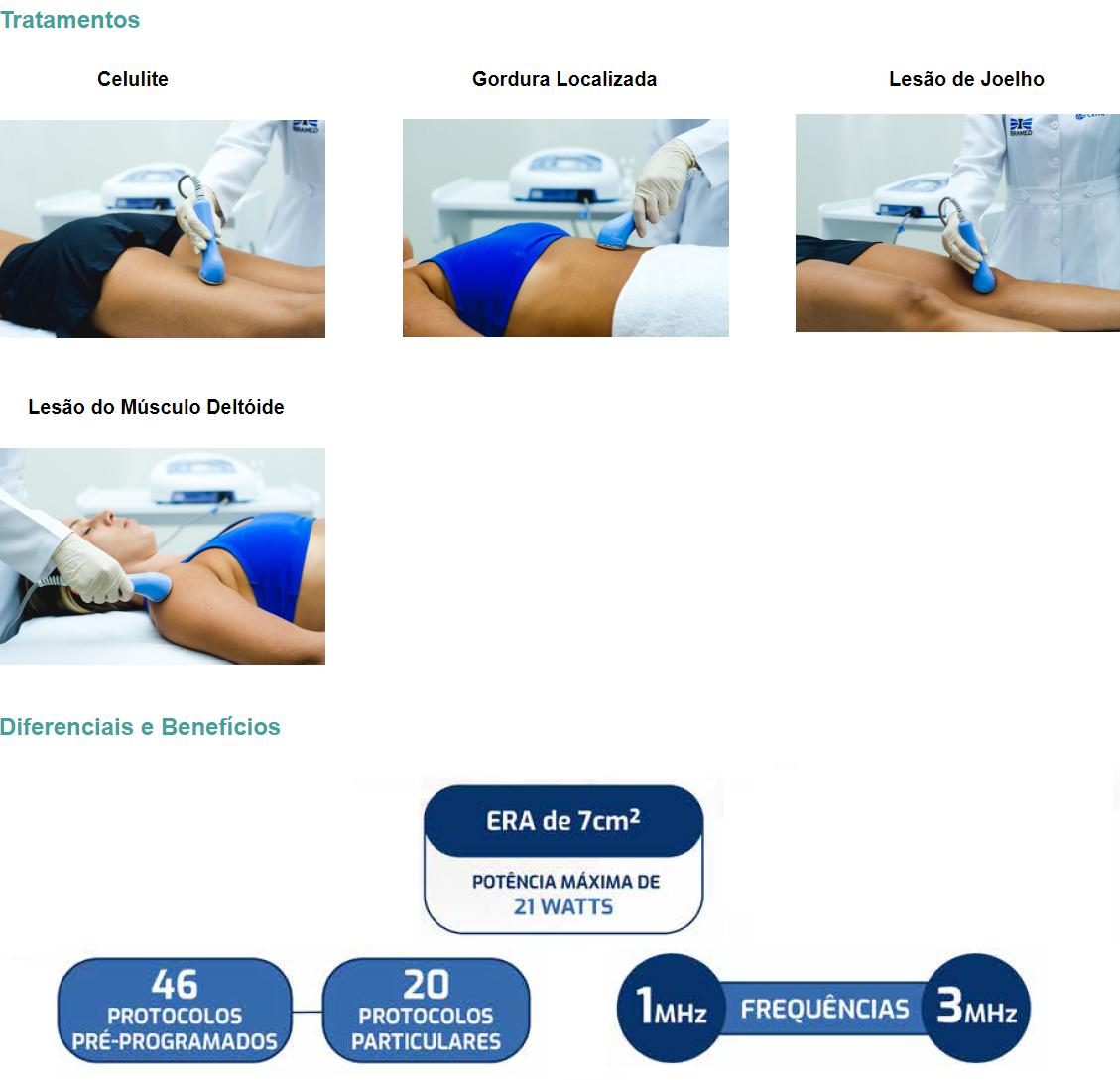 Tratamentos  Celulite Gordura Localizada Lesão de Joelho   Lesão do Músculo Deltóide
