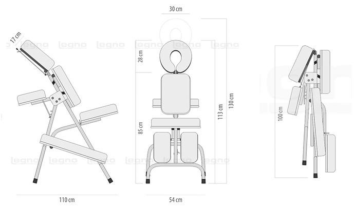 Cadeira Quick Massage Legno